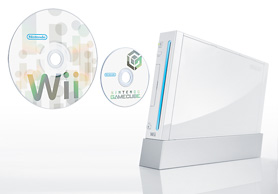 The Wii is capable of propelling both tiny discs and big discs at blinding speeds. Not for murder, but for LOVE.
